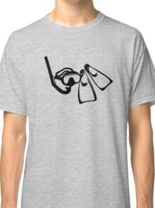 Diving Set  Classic T-Shirt