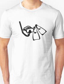 Diving Set  T-Shirt