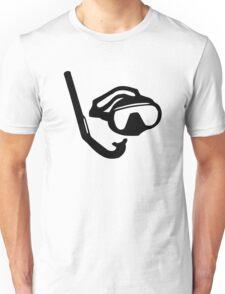Diving glasses snorkel Unisex T-Shirt
