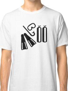 Diving equipment Classic T-Shirt