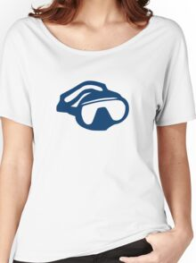 Diving goggles glasses Women's Relaxed Fit T-Shirt