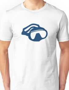 Diving goggles glasses Unisex T-Shirt