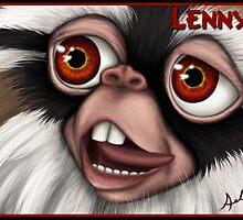 Lenny Mogwai by Art-by-Aelia