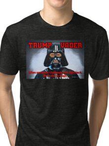 TRUMP VADER Tri-blend T-Shirt