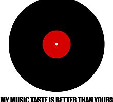 My music taste is better than yours by ak4e