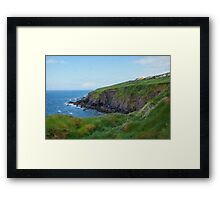 Down to the Sea, Dingle Peninsula Ireland Framed Print