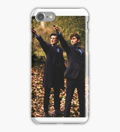the two doctors iPhone Case/Skin