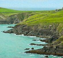 Slea Head, Dingle Peninsula, Ireland by Gail S. Haile