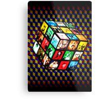 Rubik TV Metal Print