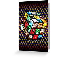 Rubik TV Greeting Card