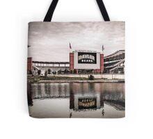 Baylor Bears McLane Stadium Sketch Tote Bag