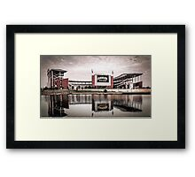 Baylor Bears McLane Stadium Sketch Framed Print