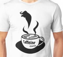Caffeine Coffee Unisex T-Shirt