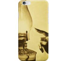 Got a Burning Heart to Light this Fag? iPhone Case/Skin
