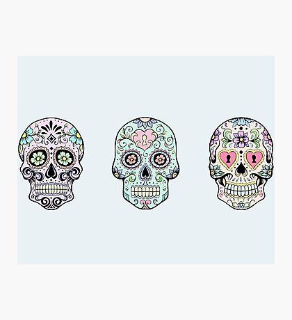 Sugar skulls Photographic Print