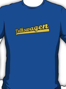 vw retro script T-Shirt