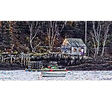 Heart in a Cove Photographic Print