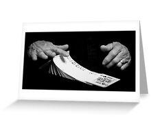 Trick Greeting Card