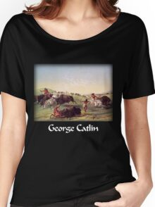 Catlin - Buffalo Hunt Women's Relaxed Fit T-Shirt