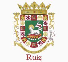 Ruiz Shield of Puerto Rico Kids Tee