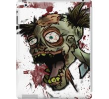Zombie Head iPad Case/Skin