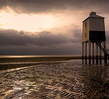Burnham on sea lighthouse by Simon West