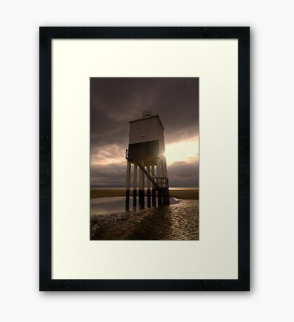 Burnham on sea lighthouse 2 Framed Print