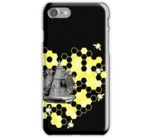 French Beehive Ladies Vintage Style T-Shirt by HNTM iPhone Case/Skin