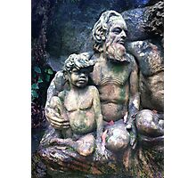 Statue, William Rickets Sanctuary Photographic Print