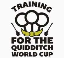Training for the Quidditch World Cup by J B