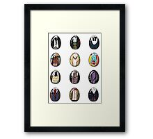A Timey-Wimey Easter I Framed Print
