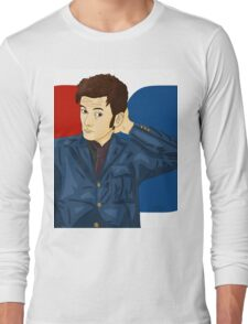 David Tennant  Long Sleeve T-Shirt
