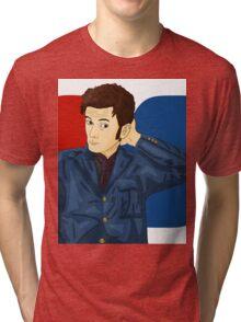 David Tennant  Tri-blend T-Shirt