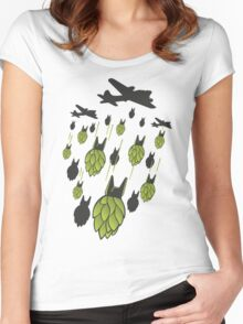 Hop Bomber Women's Fitted Scoop T-Shirt