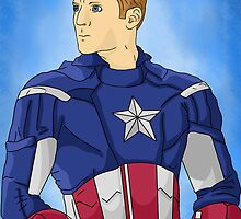 Captain America by Emberfall0507