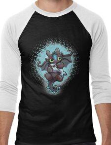 Cute dragon Men's Baseball ¾ T-Shirt