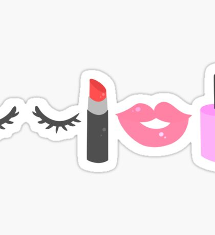 Makeup Sticker