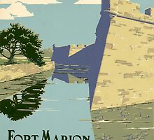 Fort Marion National Monument by Vintagee