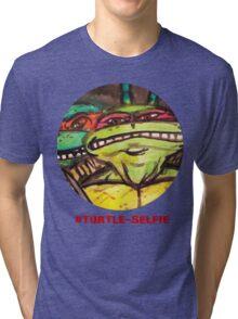 "#Turtleselfie ""Smile Raph"" Tri-blend T-Shirt"