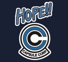 Hope!! - Capsule Corp by CassieCody