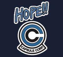 Hope!! - Capsule Corp by Jesse Friedman