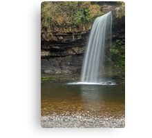 Sgwd Gwladys Waterfall River Pyrddin Canvas Print