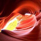 Antelope Canyon - Arizona USA by Honor Kyne