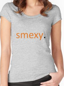 smexy. Women's Fitted Scoop T-Shirt