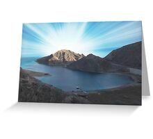 Taba Sunrise Egypt Greeting Card