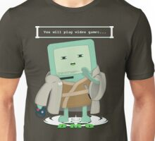Jedi Mo: You will play video games... Unisex T-Shirt