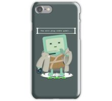 Jedi Mo: You will play video games... iPhone Case/Skin