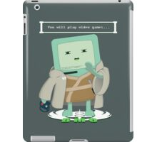 Jedi Mo: You will play video games... iPad Case/Skin