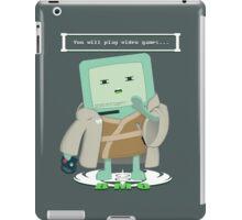 Jedi Mo: You will play video games... iPad Case/Skin