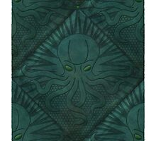 """H. P. Lovecraft """"The Call of Cthulhu"""" by RedHillPrints"""